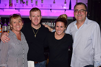 Kevin Walk and Family - Owner, operators Gator Lanes and Ter-Tinis