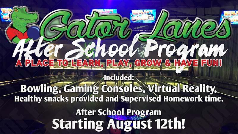 Gator Lanes' Fort Myers after school program